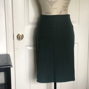 Army Green Pencil Skirt